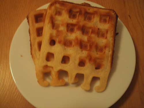 Crispy Waffle, out of the freezer