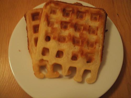 Crispy Waffle, out of the freezer