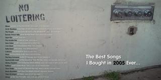 Top Tunes 2005 - CD booklet artwork