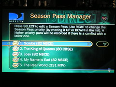DirecTivo Season Pass Manager