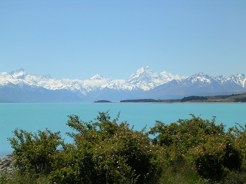 Mt cook area