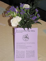 The short history of TSFS leaflet along with some flowers