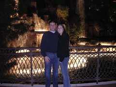 katie and erik at the Wynn