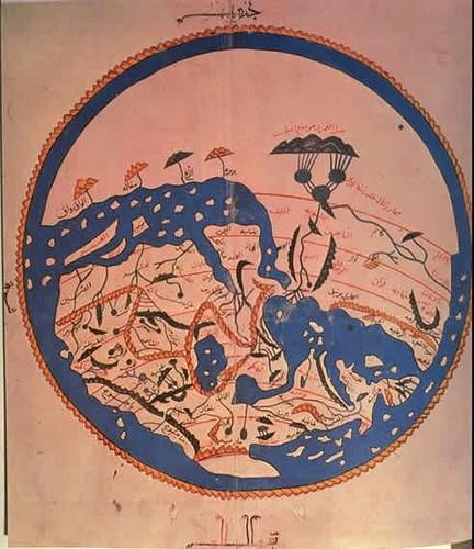 Al Idrisi, 1154