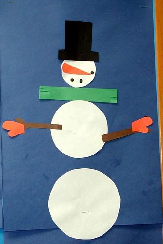 formal snowman