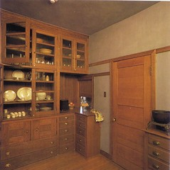 pantry outside dining area