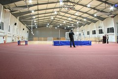 A new sports hall of my old school