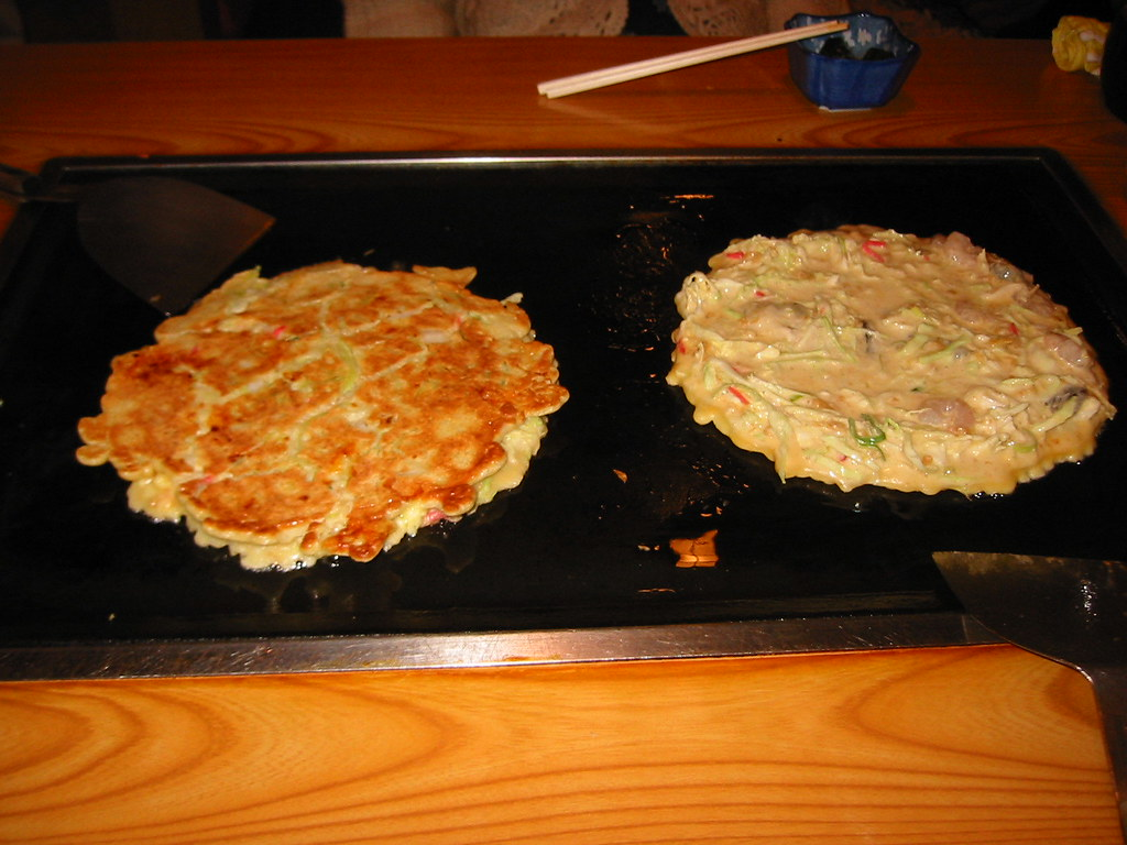 Two Okonomiyaki