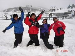 Membuang Mase Kat Ski Resort Perisher Blue, Snowy Mountains, Australia