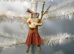 Spun Cotton Ornament photo by oldworldprimitives