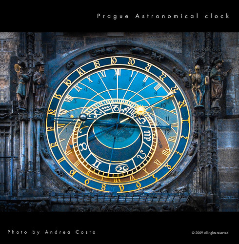 Astronomical Clock - Praga by ac_theart