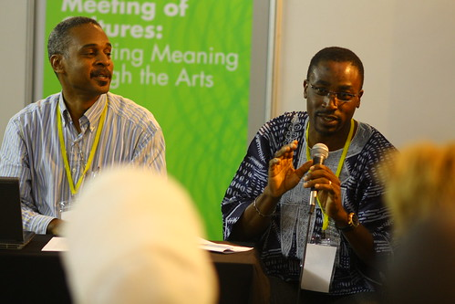 Wayne Sinclair (Jamaica) and Tade Adekunle (Nigeria), 4th World Summit on Arts & Culture