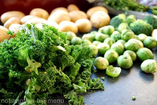 Christmas meal - kale