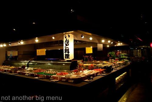 Jogoya, KL - Sashimi counter