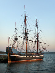Ship Hector in Pictou, Nova Scotia