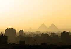 Cairo Skyline photo by Julian Kaesler
