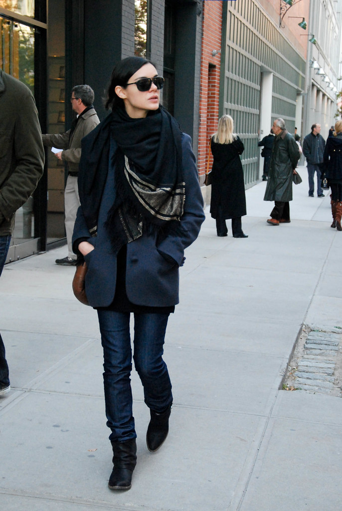 Draped Scarf, West Chelsea