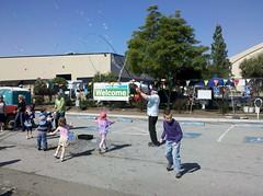 Crazy bubbles at Maker Faire