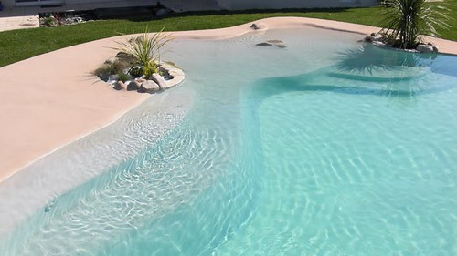 Una playa en tu casa taringa - Piscina de arena compactada ...
