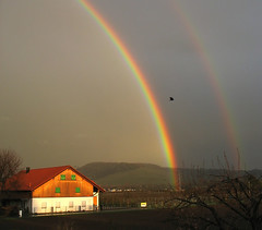 Fascinating Nature - First Double Rainbow photo by Batikart