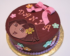 Dora Birthday Cake photo by jlmooraj