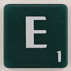 scrabble letter E