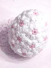 Mollie-Flower-Ei Egg Amigurumi Osterei Blümchen Blumenei Shabby deko osterdeko photo by Pfiffigste Fotos