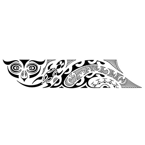 Bracelete Maori kirituhi Tattoo Polinesia.2000 desenhos © Photo by ...