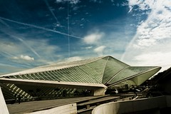 Spaceship Under Attack ! (at Liege Guilemins) photo by Gilderic Photography