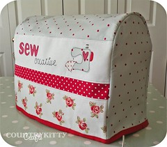 sewing machine cover photo by countrykitty