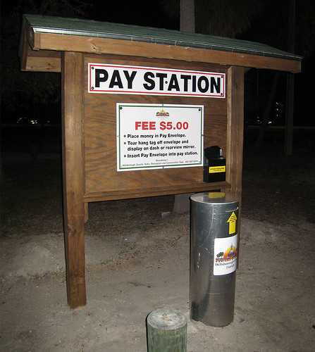 Gandy Boat Ramp Pay Station