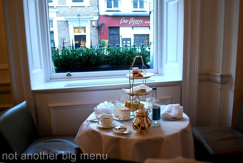 Brown's - afternoon tea 1
