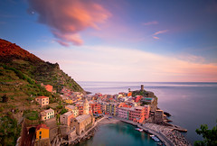 Italy - Cinque Terra: Pastels photo by Nomadic Vision Photography