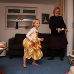 Emma and Granny getting groovy<br/>17 Jan 2010