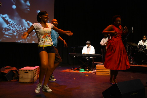 Performance of Crazy for Jazz, during the 4th World Summit on Arts and Culture