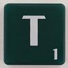 scrabble letter T