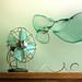 Cuba Gallery: Retro / vintage / photoshop / blue / fan / bubble / background / photography / amazing / beautiful / color