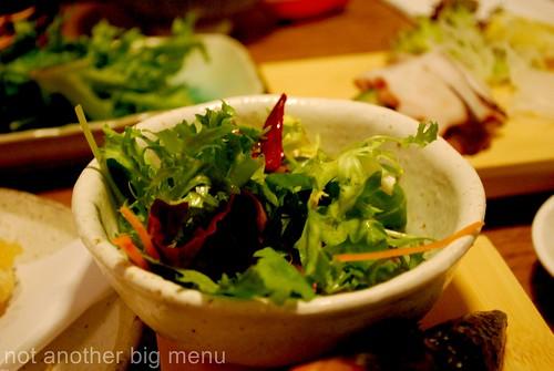 Satori Robata - salad