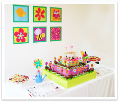 Mesa de doces - Coleção Jardim photo by Santa Frescura! - por: Carolina Ozores