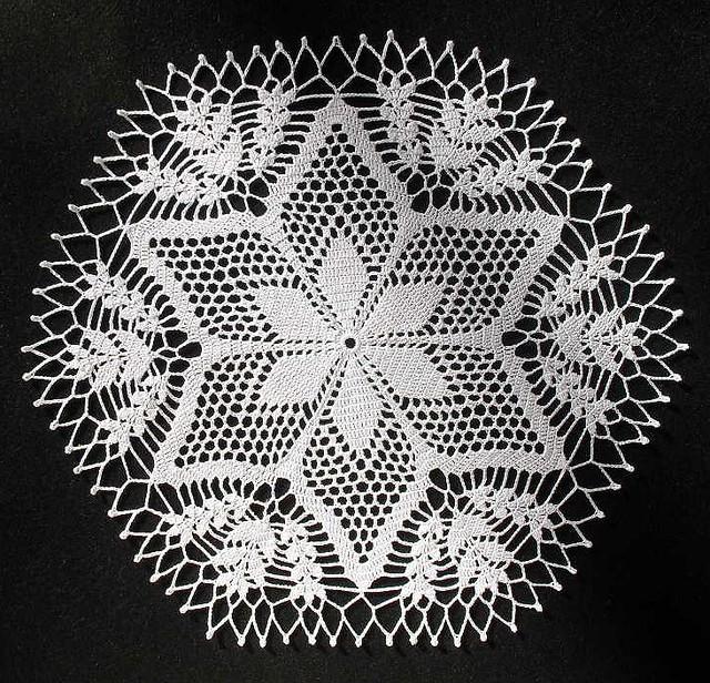 Christmas Crochet Doily Patterns Crochet Patterns