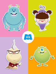 Kawaii Monsters Inc. photo by Jerrod Maruyama