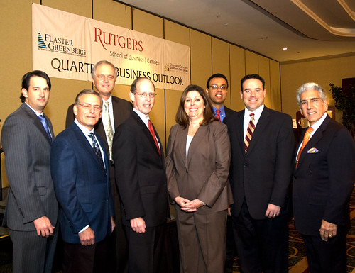 Rutgers School of Business Administration at Camden and Chamber of Commerce of Southern New Jersey hold Quarterly Business Outlook