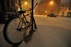 460-730 Snowy Bike by joelzimmer