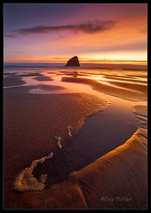 Pacific City Sunset photo by Chip Phillips