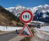 Col de la Forclaz - steep - almost at top