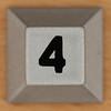 tabletop sudoku number 4