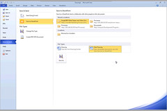Visio/SharePoint 2010 integration: saving as Web Drawing