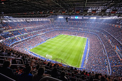 Real Madrid CF Stadium – Estadio Santiago Bernabéu, Madrid (Spain), HDR photo by marcp_dmoz