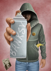 Banksy photo by Ben Heine