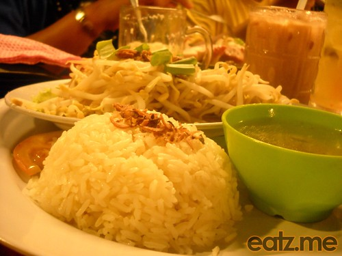 Bean sprout Chicken Rice Side 2 [Eatz.me]